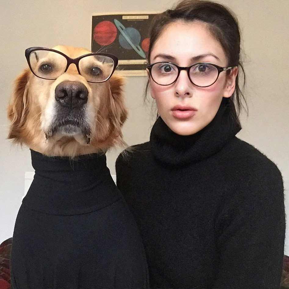 Fotografin Ursula Daphne Aitchison ist auf den Hund gekommen Hugo-And-Ursula_02