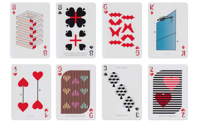 "Spielkartendeck ""Illusion d'Optique"""