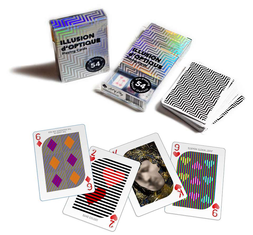 "Spielkartendeck ""Illusion d'Optique"" Illusion-dOptique-Playing-Cards_03"