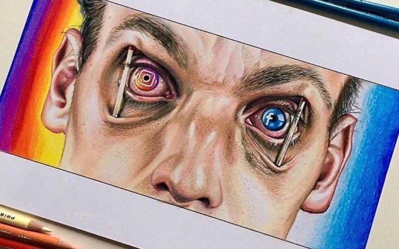 Gesellschaftskritische Zeichnungen von Sam Bailey