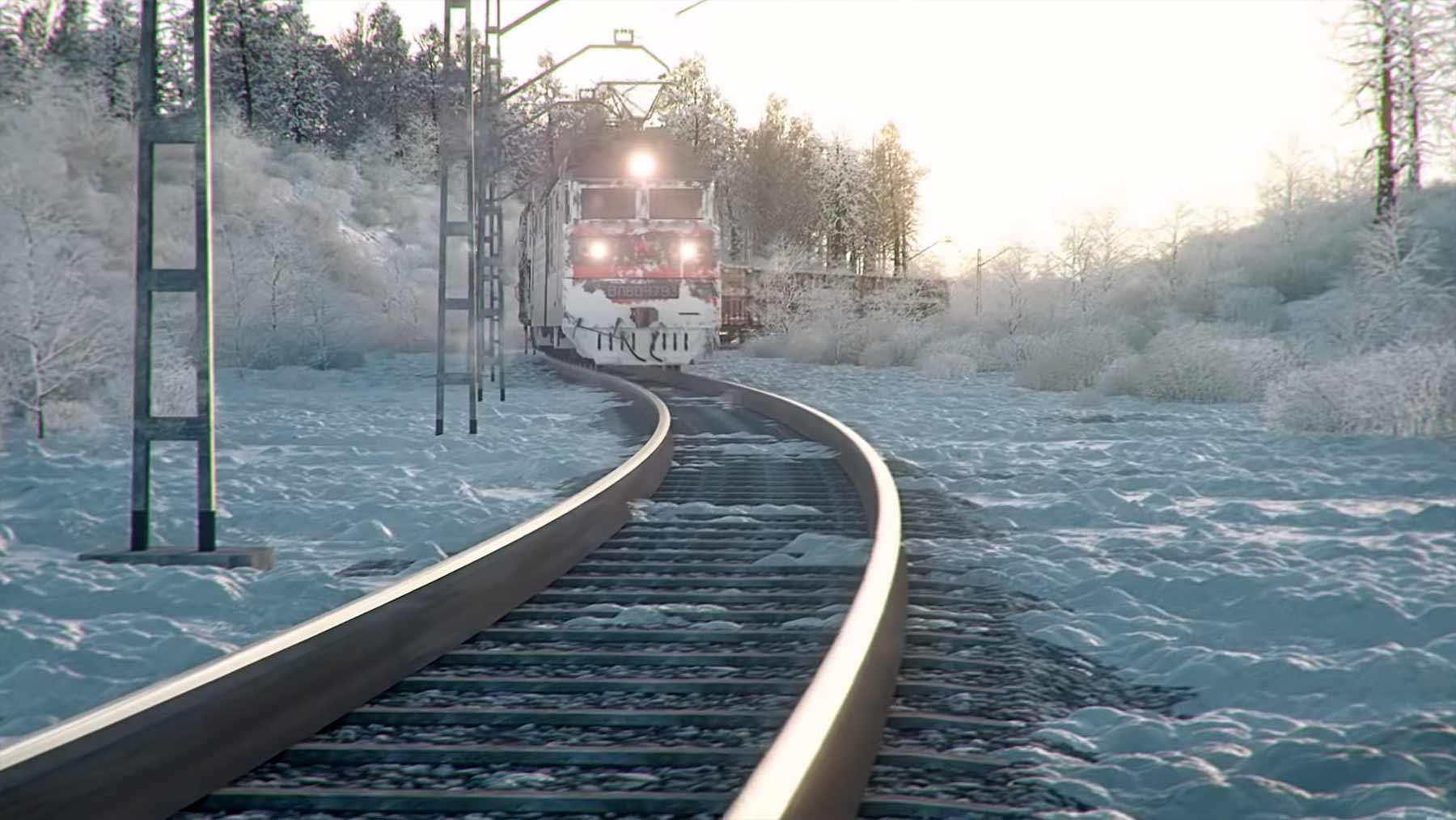 Transsibirischer Eisenbahnsimulator Trans-Siberian-Railway-Simulator