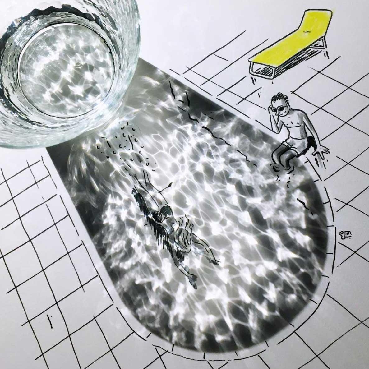 Neue Schatten-Zeichnungen von Vincent Bal Vincent-Bal-Schattenzeichnungen-2019_03
