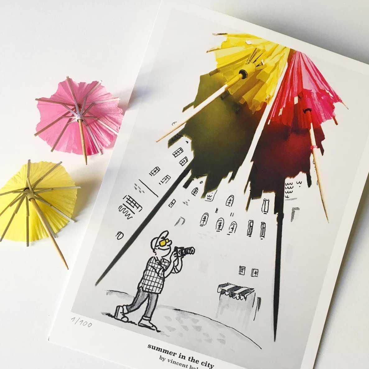 Neue Schatten-Zeichnungen von Vincent Bal Vincent-Bal-Schattenzeichnungen-2019_12