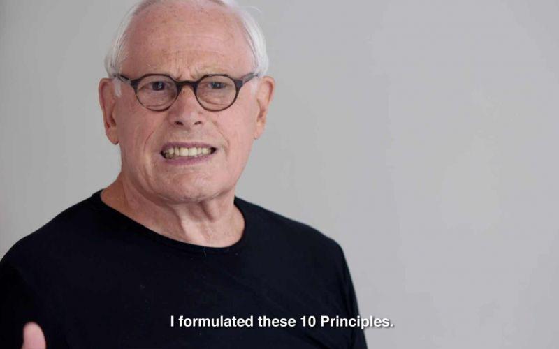 Designer Dieter Rams teilt seine 10 Prinzipien guten Designs