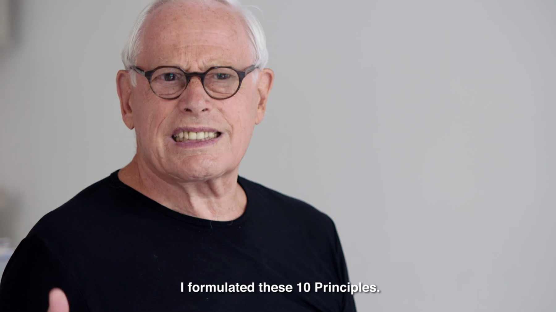 Designer Dieter Rams teilt seine 10 Prinzipien guten Designs dieter-rams-design-regeln