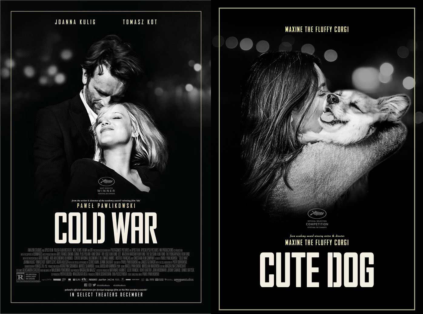 Bekannte Filmplakate mit Corgi verbessert filmposter-mit-corgi-hund_06