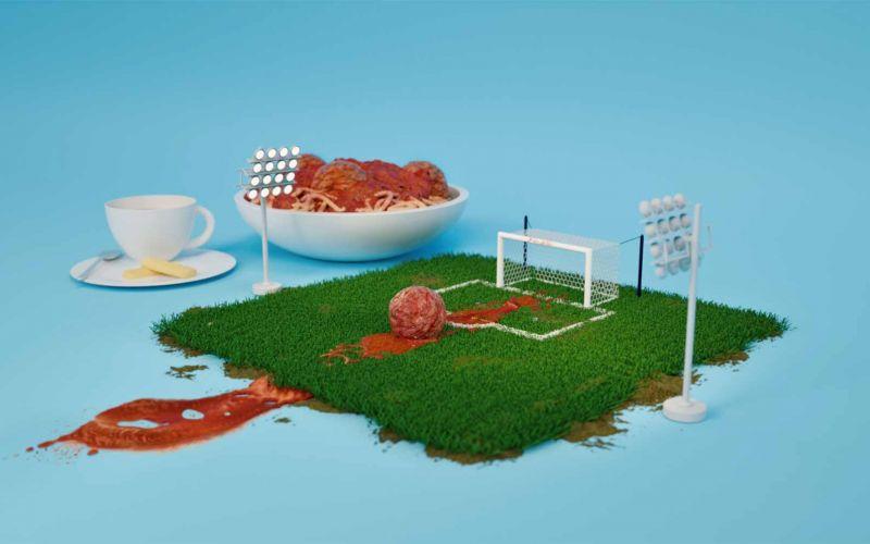 "Verspielte Animation: ""Food Play"""