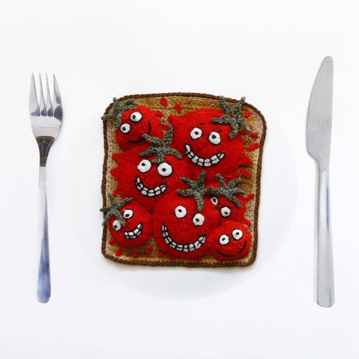 Gehäkeltes Essen gehaekeltes-essen-kate-jenkins_09
