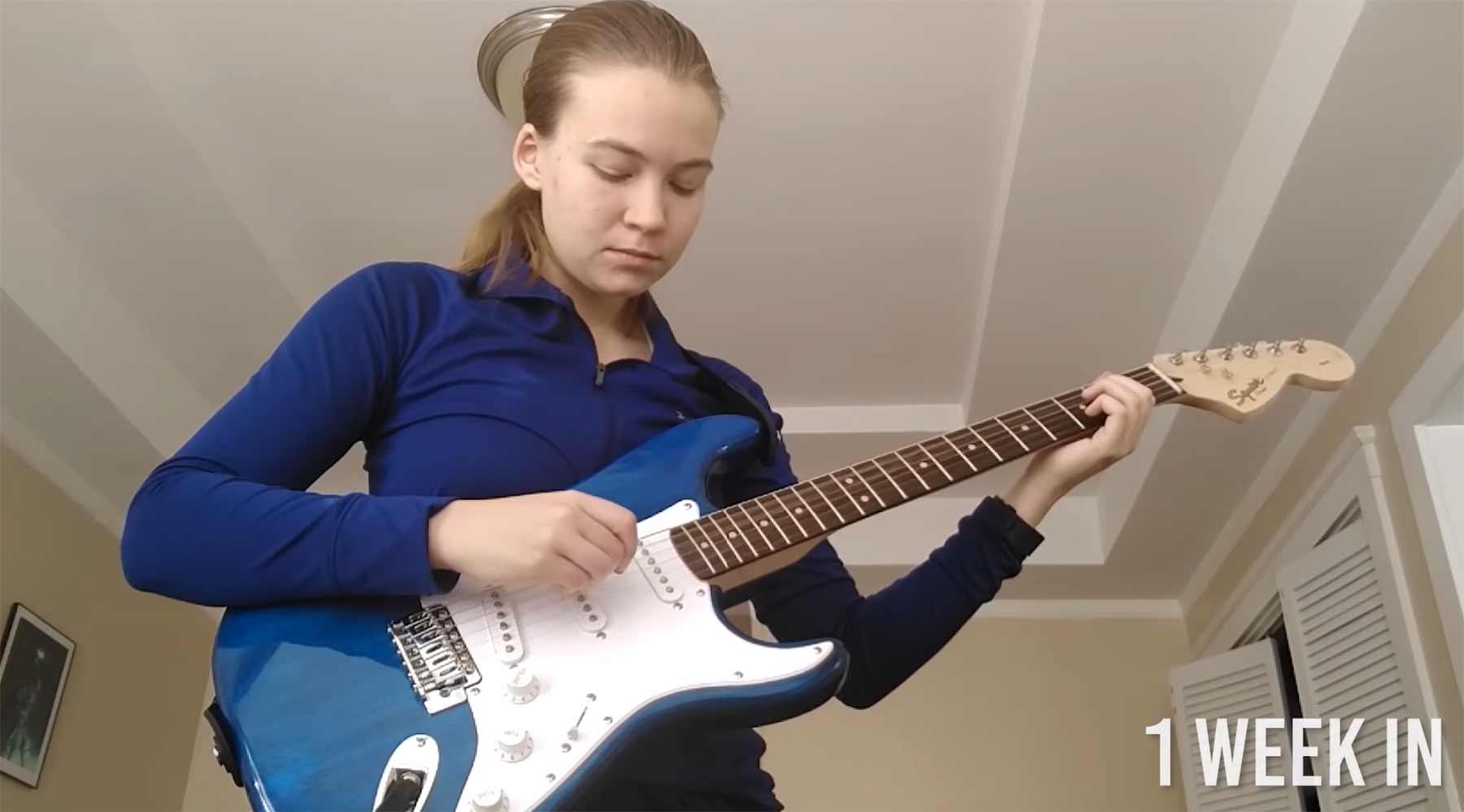 3 Jahre Gitarre spielen lernen in 9 Minuten