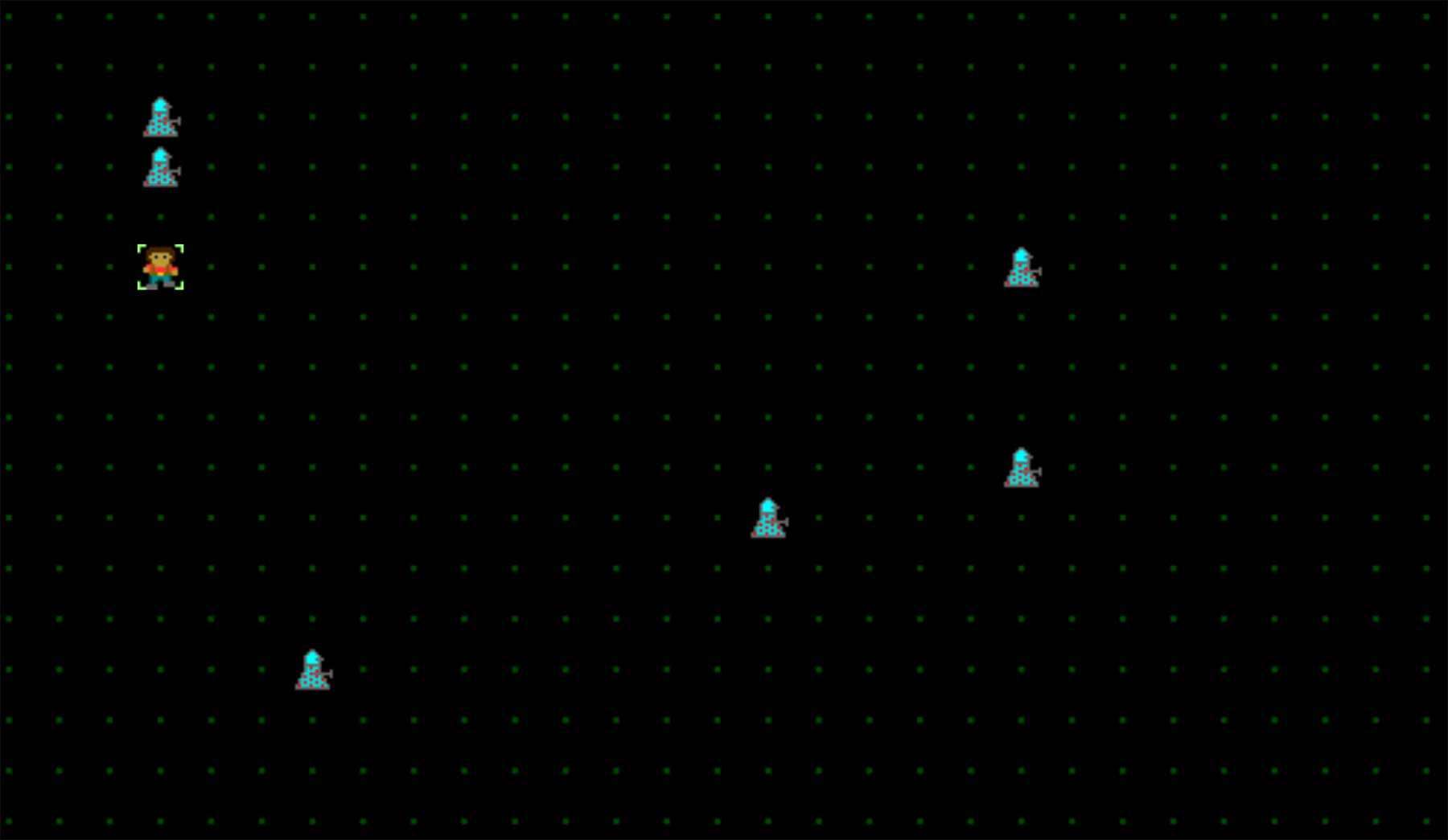 """Puzzle-Browserspiel """"HOMICIDAL ROBOTS, INC."""""""