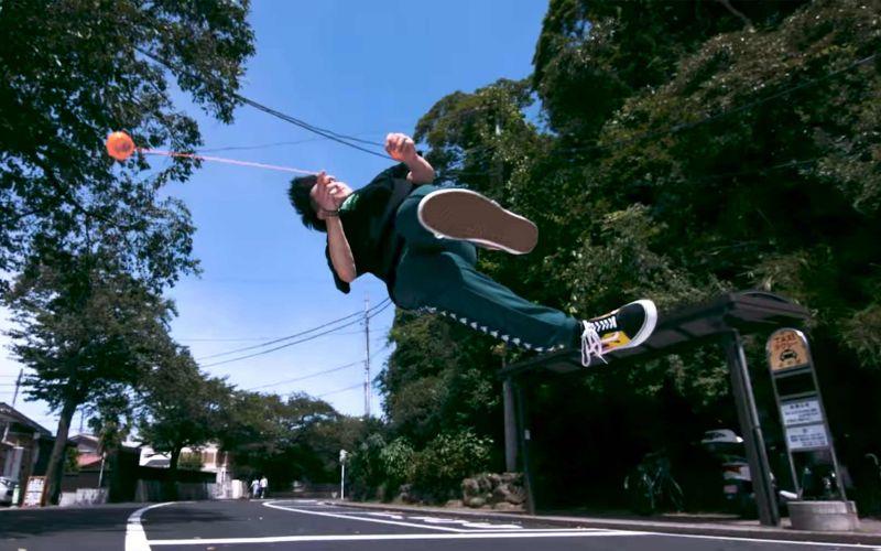 """Superzeitlupen-Tricks von """"Yoyo Ninja"""" Shu Takada"""