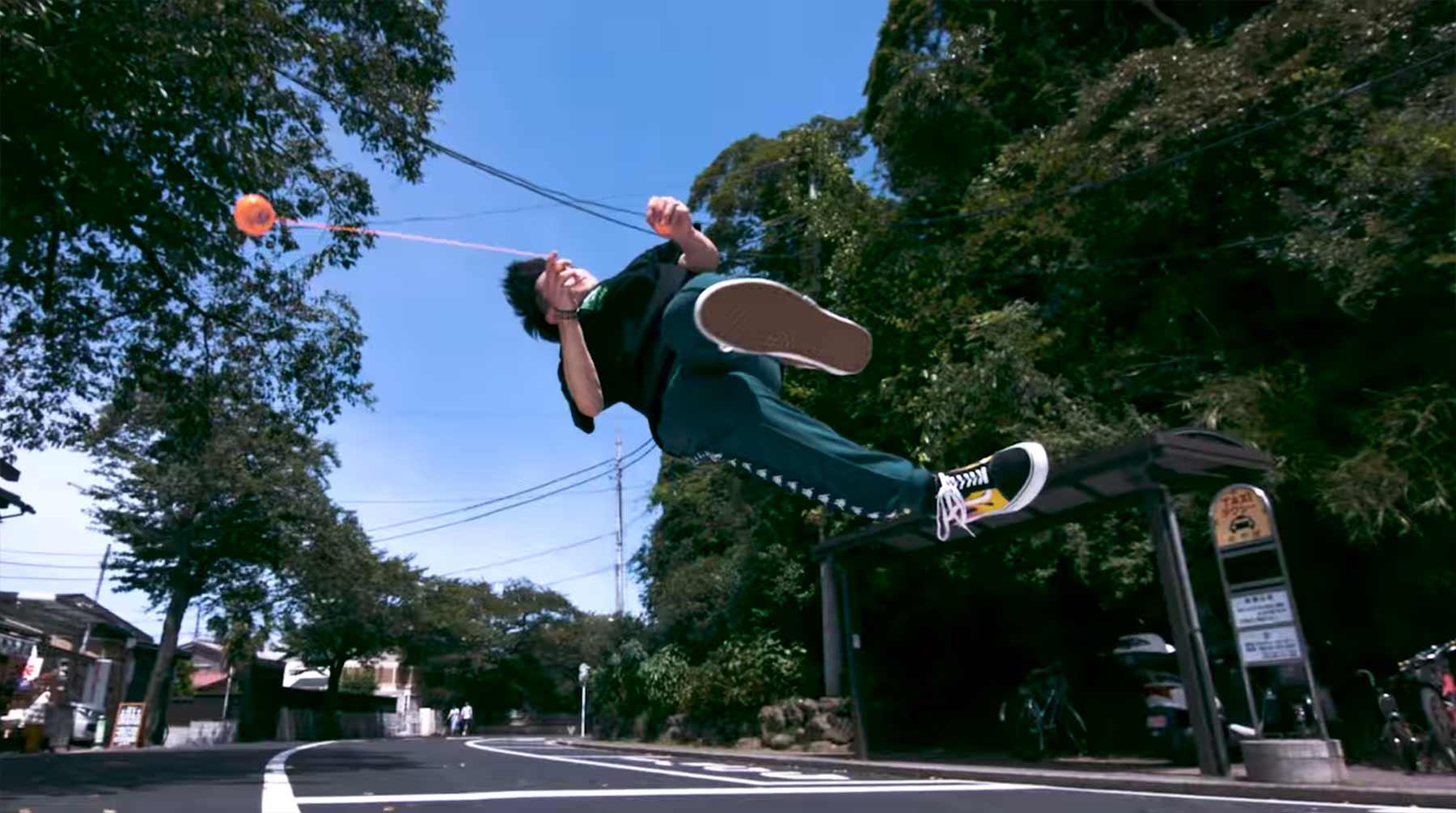 "Superzeitlupen-Tricks von ""Yoyo Ninja"" Shu Takada jojo-akrobatik-Shu-Takada"