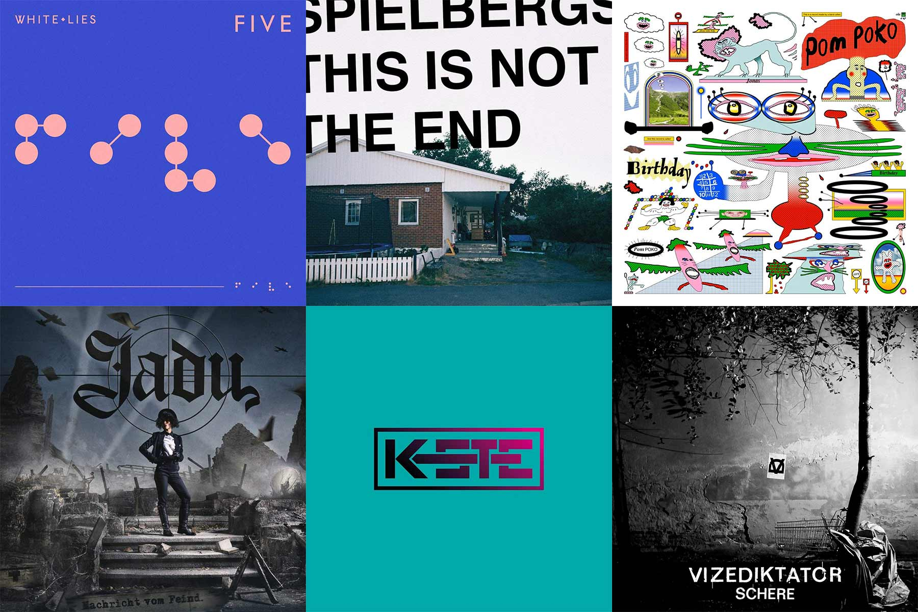 Kurzreviews: Neue Musikalben im Februar 2019
