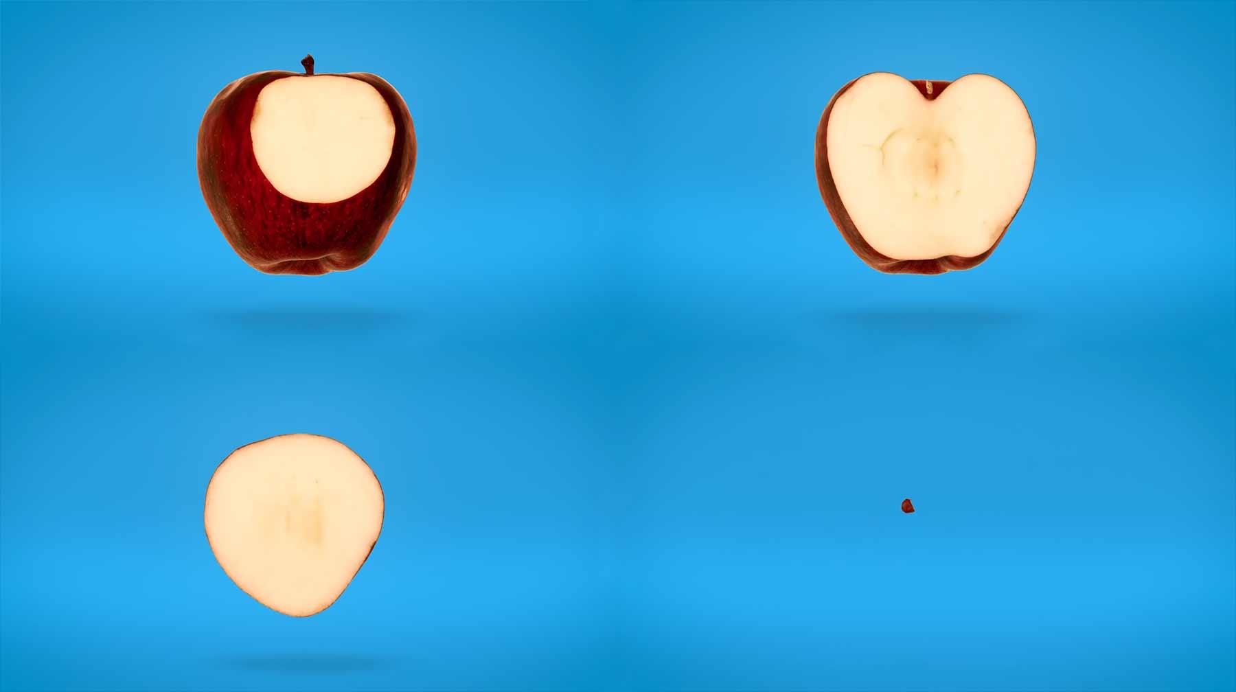 In Stopmotion-Schichten durch Essen fliegen