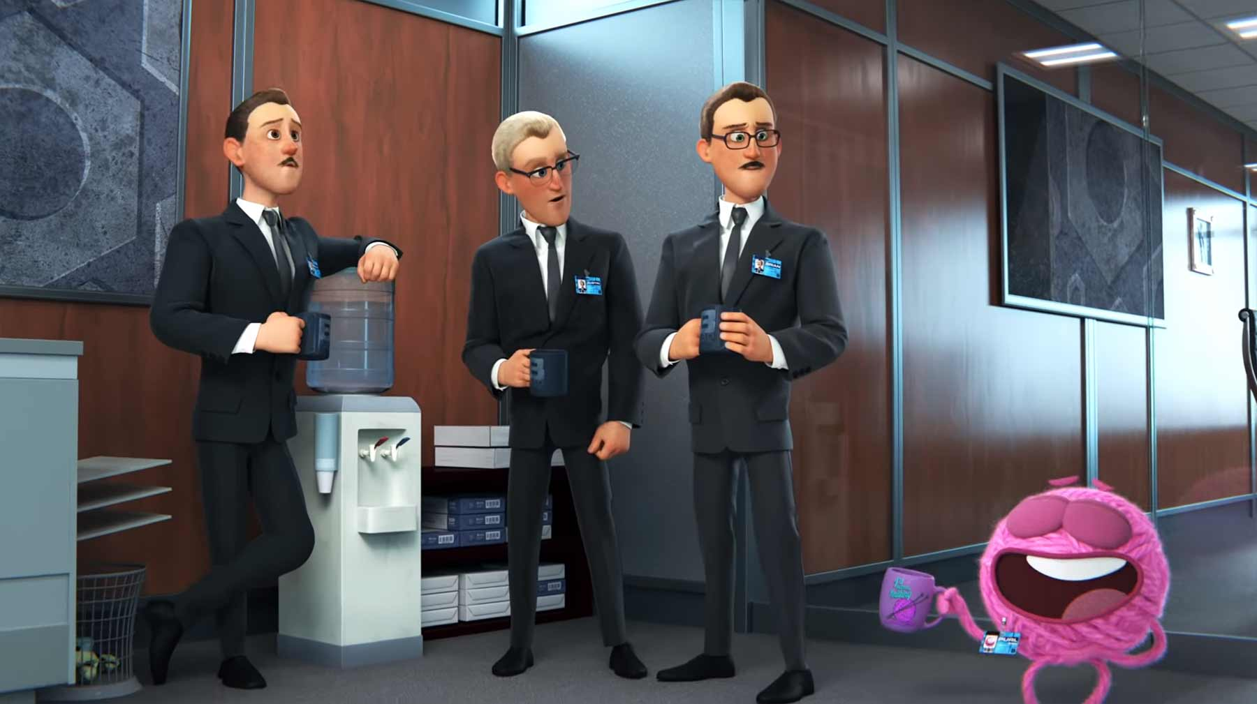 "Neuer Pixar-Kurzfilm: ""Purl"""
