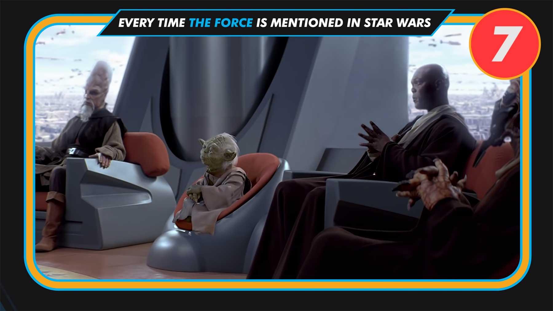 """Alle Male, wenn in """"Star Wars"""" die Macht erwähnt wird"""