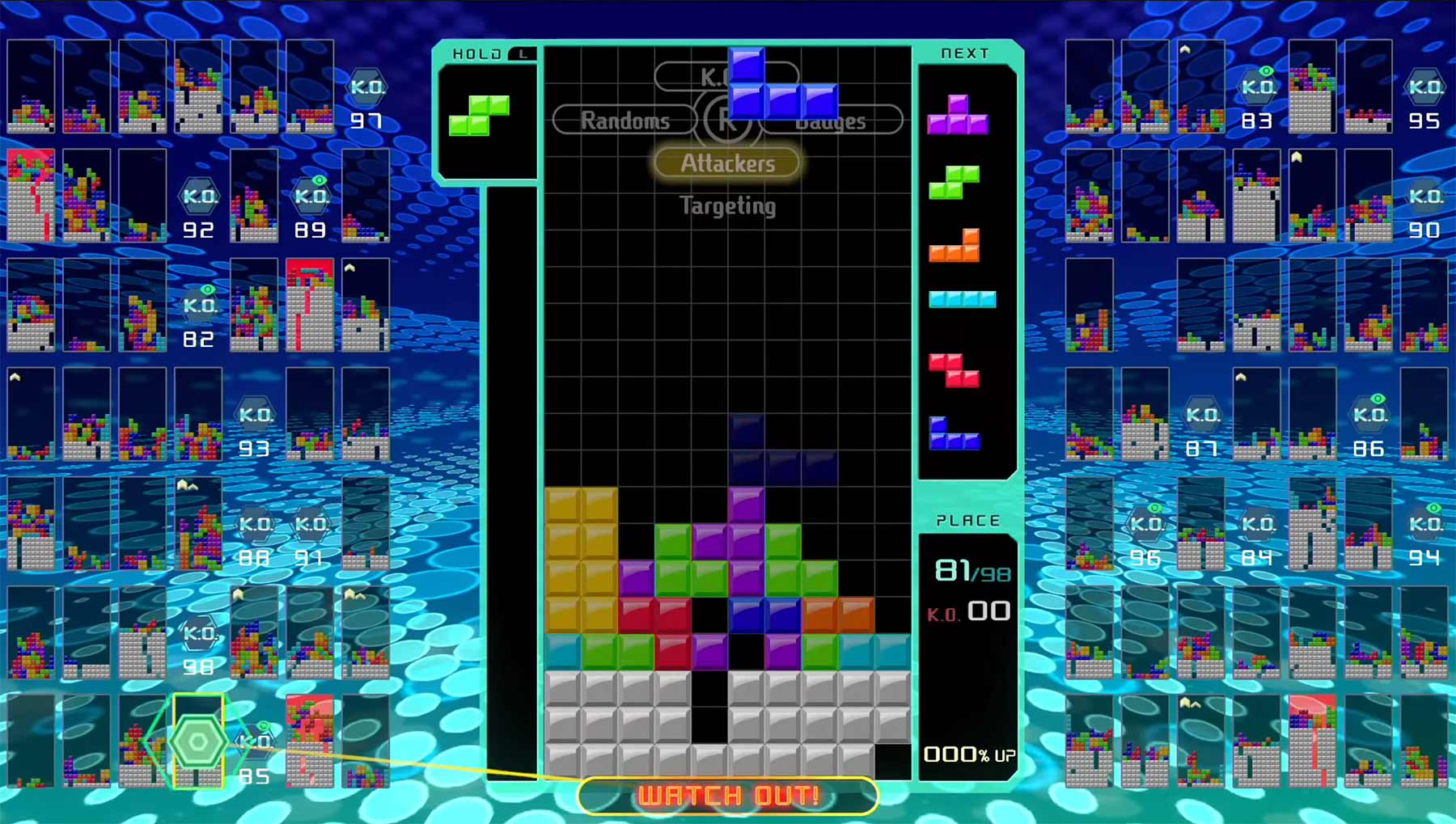 """Tetris 99"": Battle Royale-Modus des Steinbau-Klassikers"