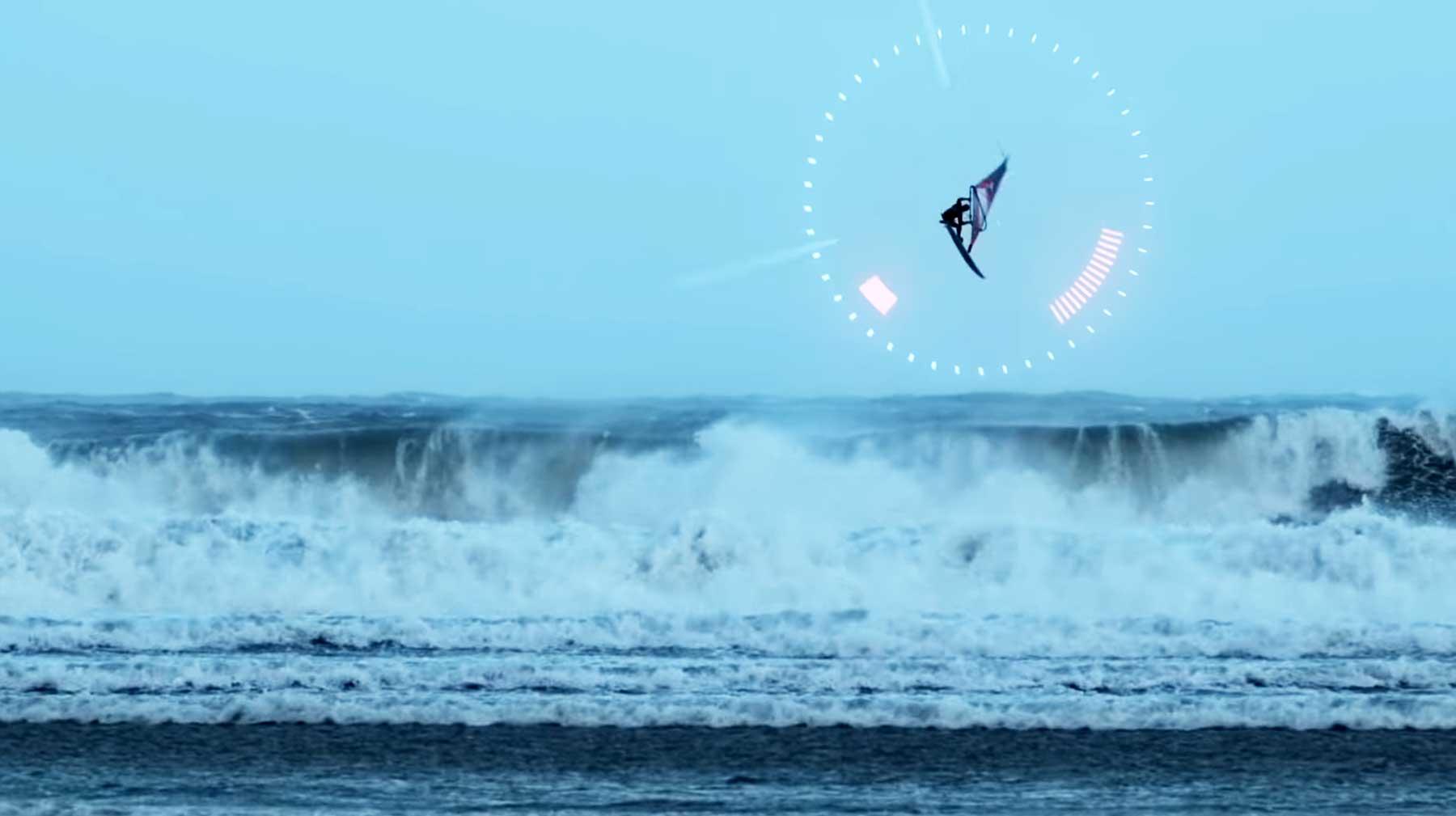 Windsurfen bei Sturm