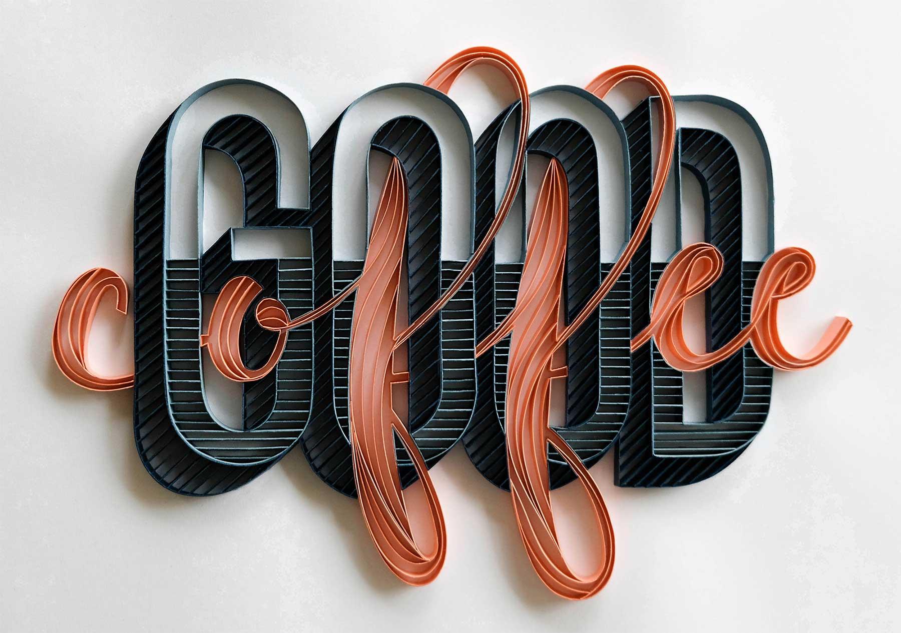 3D-Papier-Lettering von Alia Bright Alia-Bright-paperlettering_01