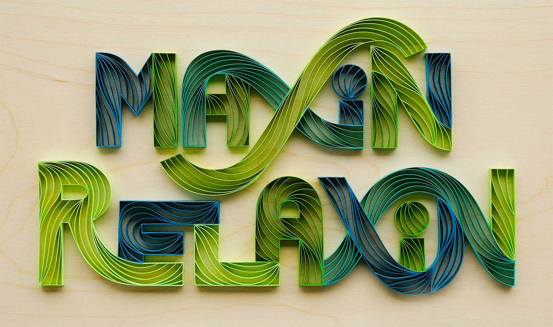 3D-Papier-Lettering von Alia Bright Alia-Bright-paperlettering_05