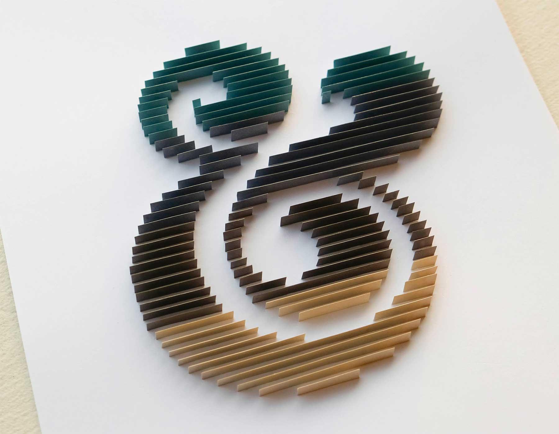 3D-Papier-Lettering von Alia Bright Alia-Bright-paperlettering_06