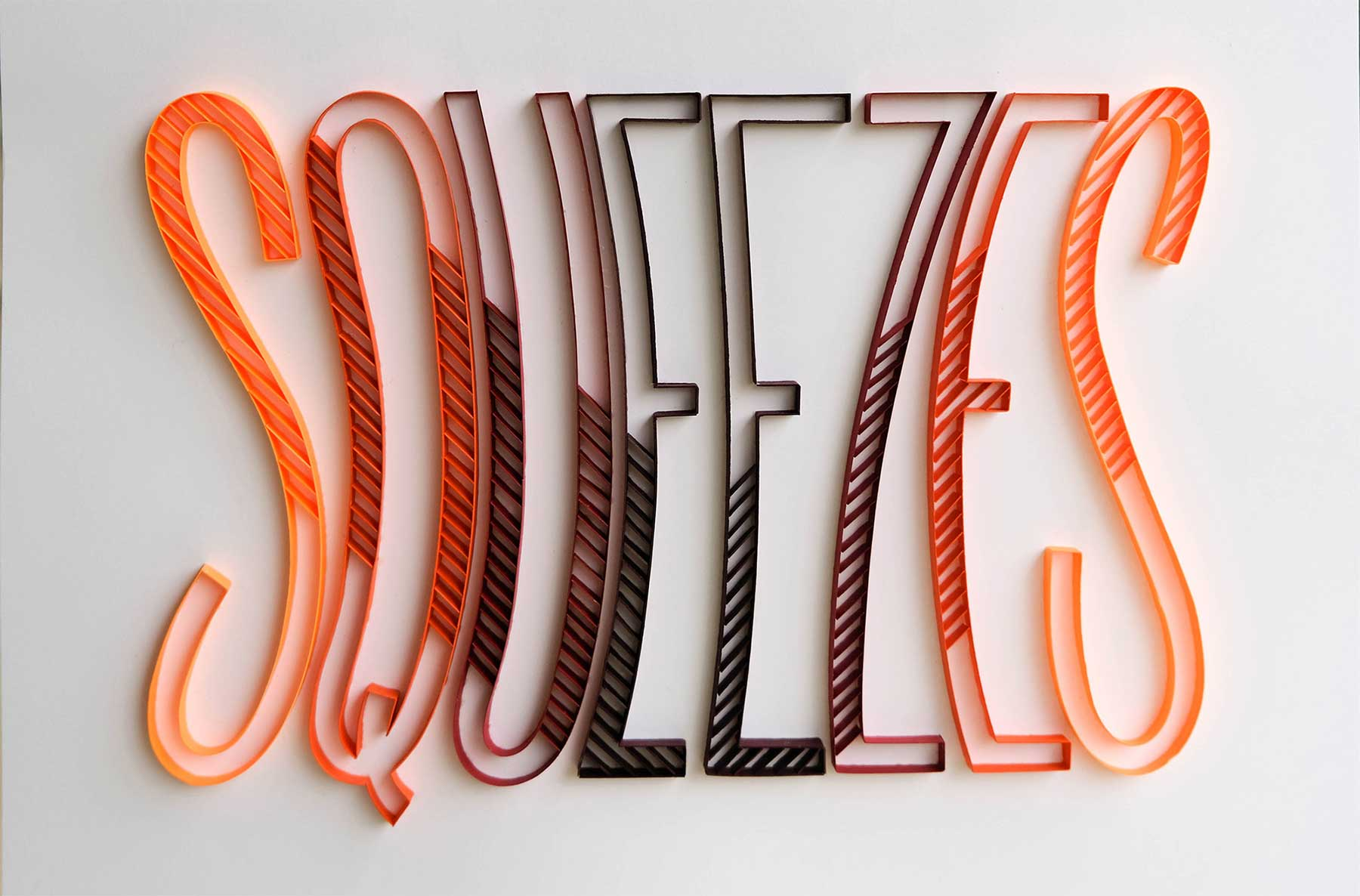 3D-Papier-Lettering von Alia Bright Alia-Bright-paperlettering_13