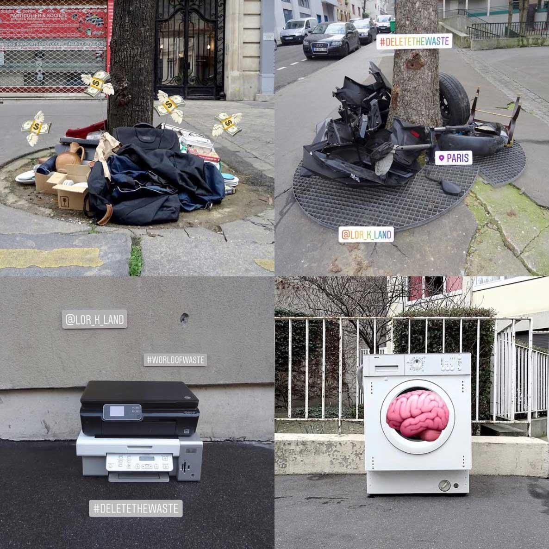 Street Artist Lor-K macht Sperrmüll löschbar Delete-the-waste-Lor-K_07