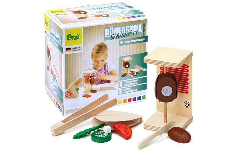 Spielzeug-Dönergrill Schneideset für Kinder