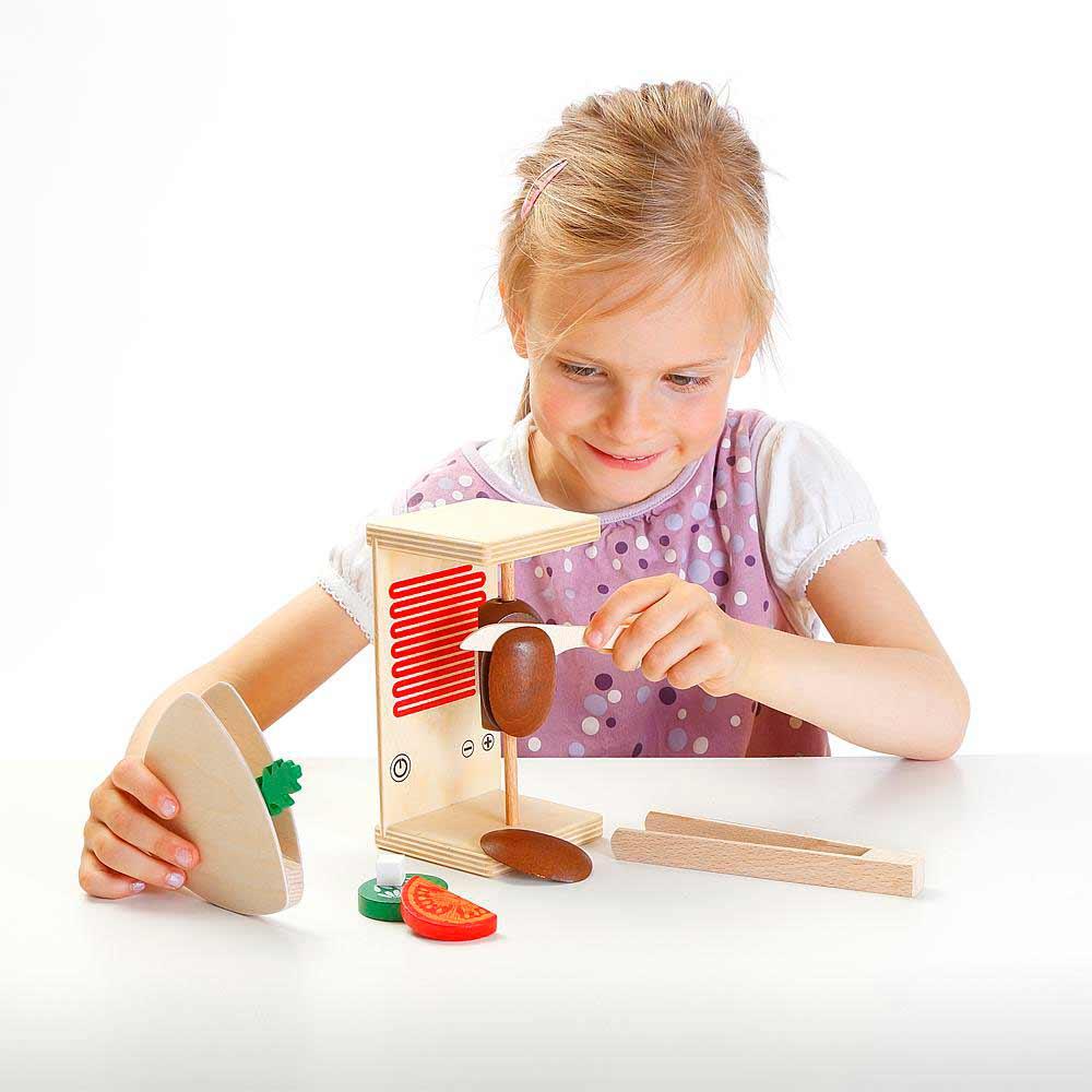 Spielzeug-Dönergrill Schneideset für Kinder Doenergrill-Schneidset-erzi-Doener-schneiden-Spielzeug_02