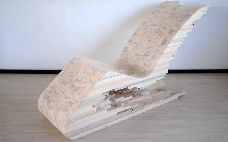 Bau eines hölzernen Pixel-Stuhles