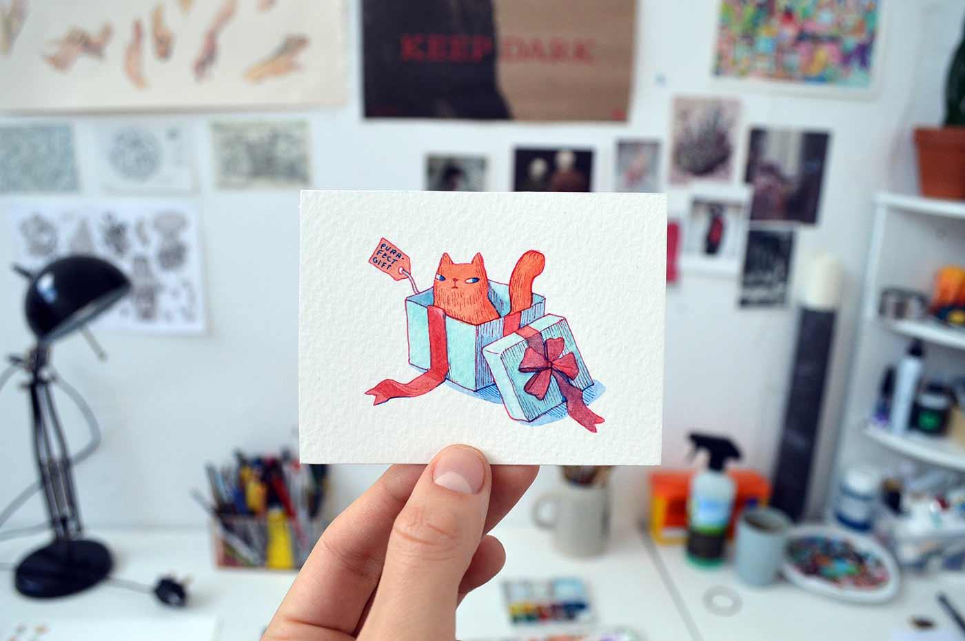 Süße Zeichnungen von Marija Tiurina Marija-Tiurina-2019_06