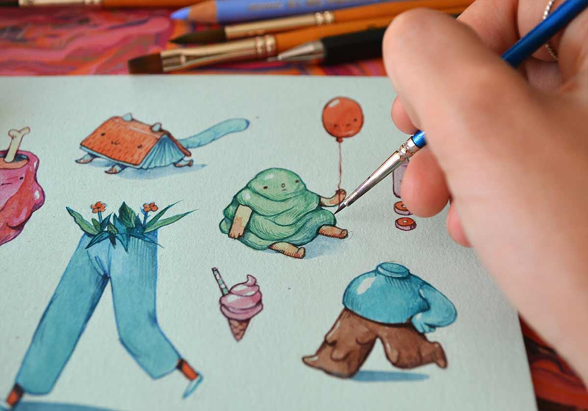 Süße Zeichnungen von Marija Tiurina Marija-Tiurina-2019_09