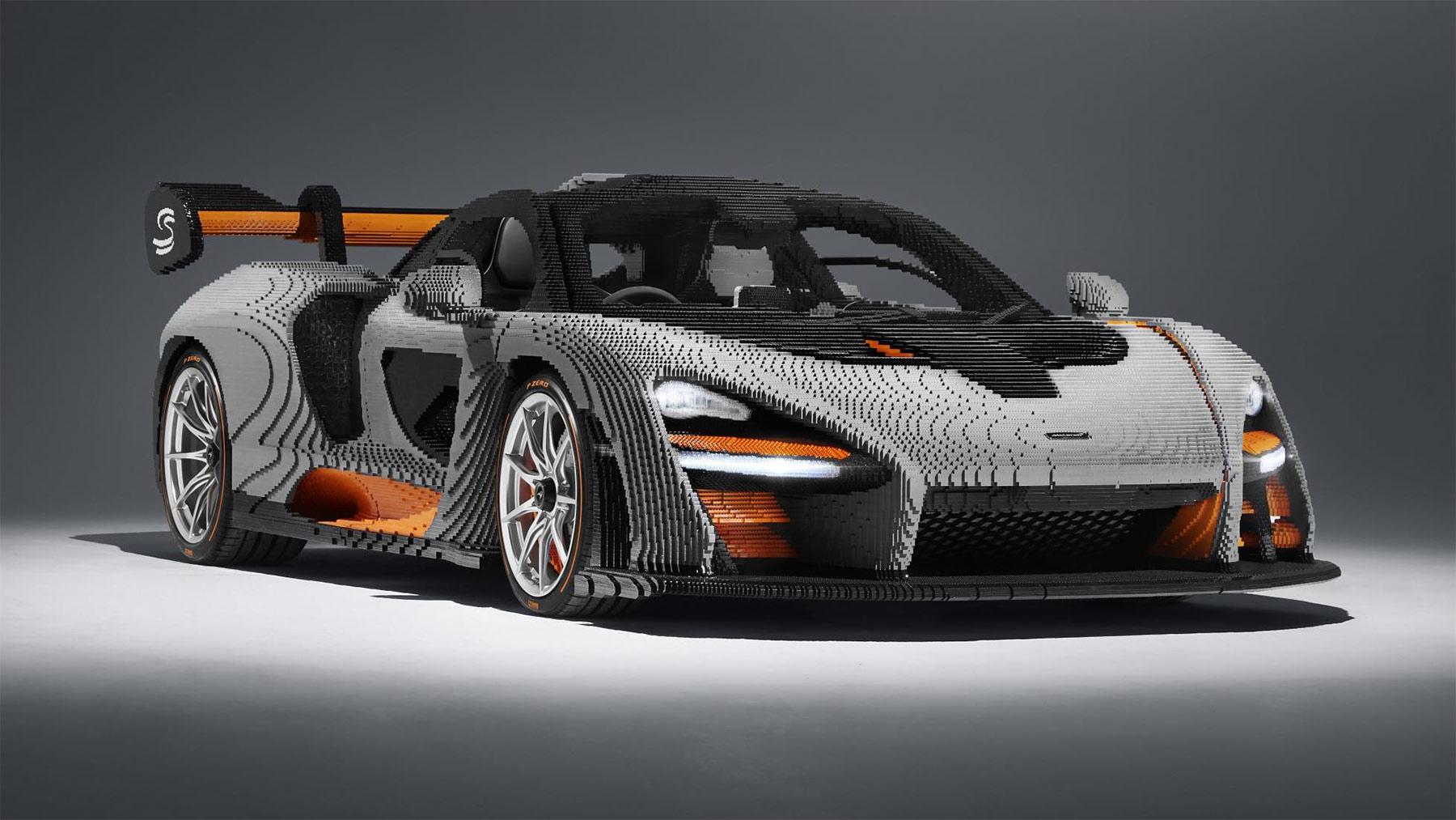 McLaren Senna Sportwagen aus 480.000 LEGO-Steinen