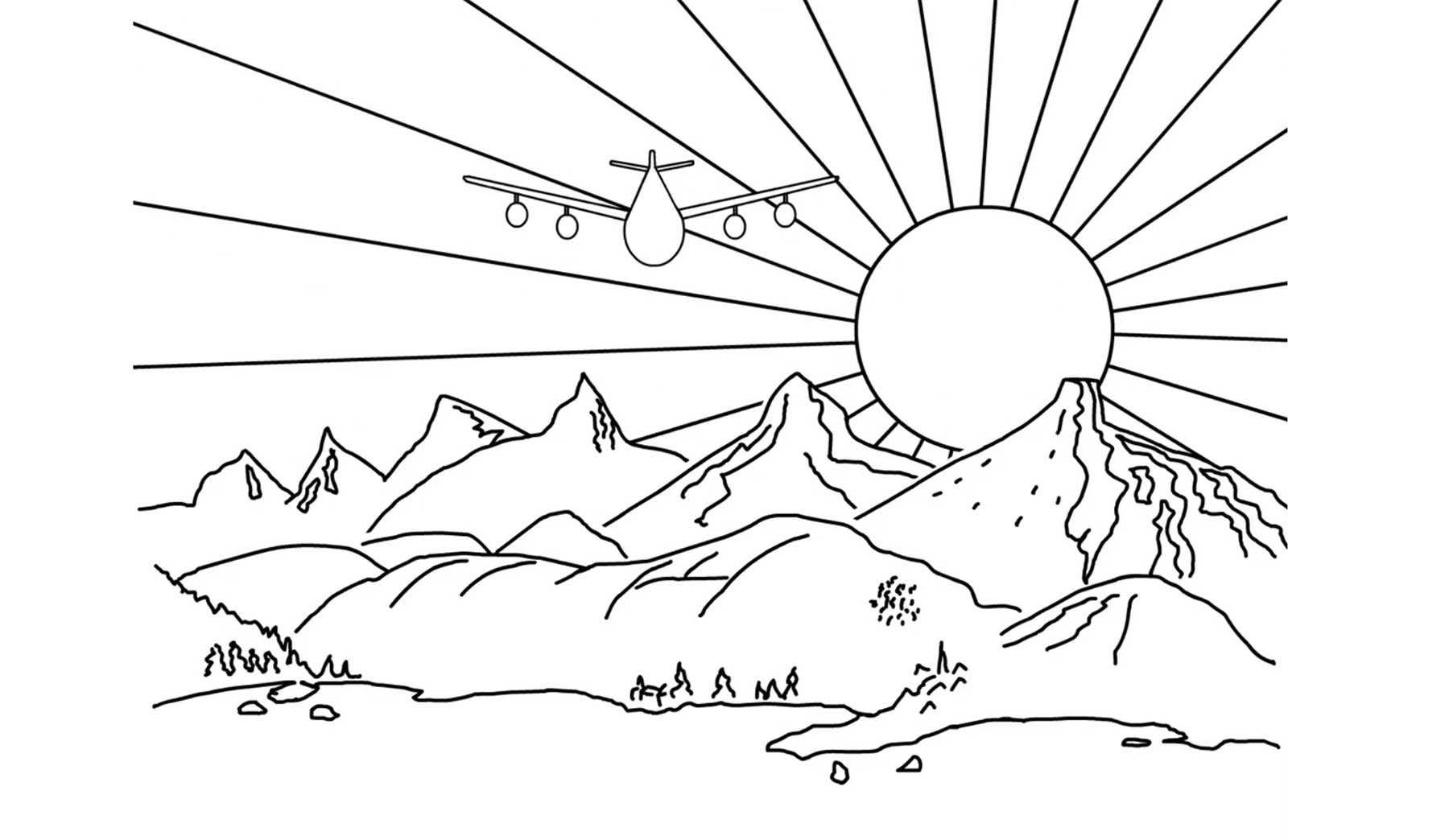 Durchgeknallte Sonnenuntergänge Seven-Sunsets