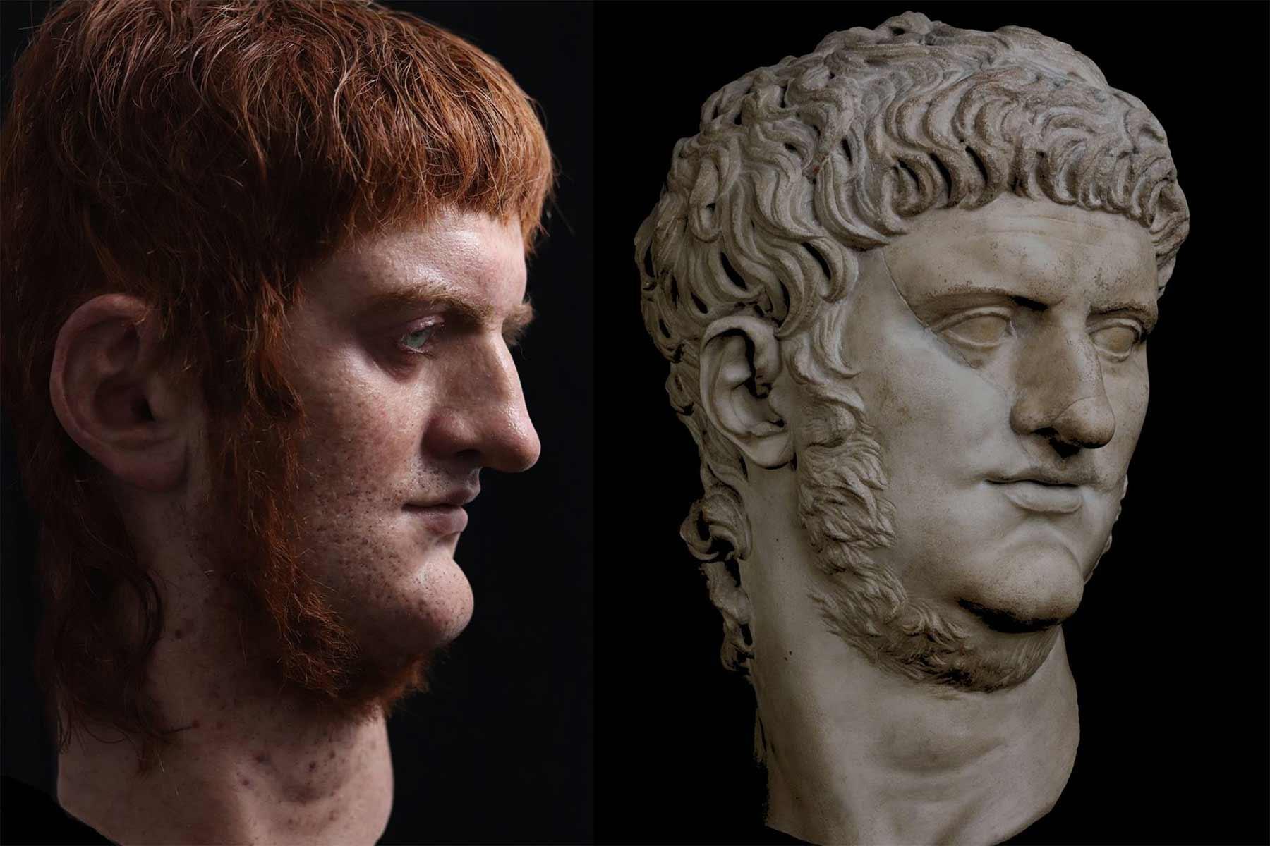 Hyperrealistische Büsten römischer Herrscher cesares-de-roma_02