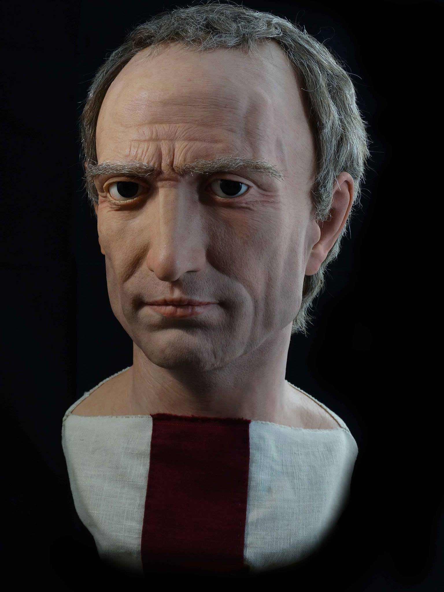 Hyperrealistische Büsten römischer Herrscher cesares-de-roma_03