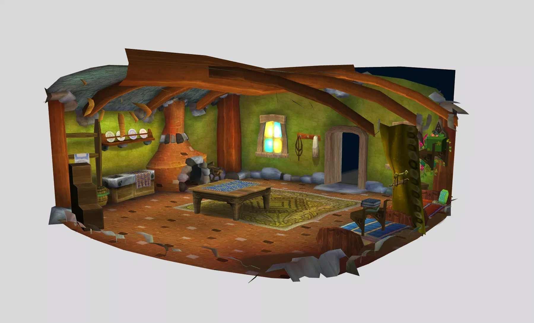 Im Browser durch alte 3D-Videospiel-Level fliegen