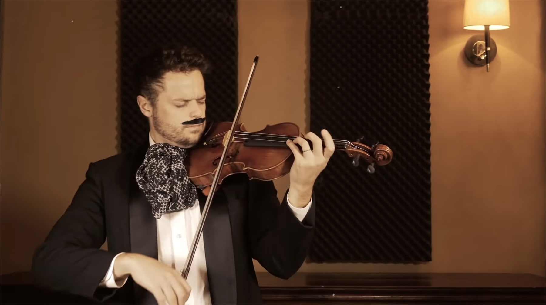 Filmmusik-Evolution auf der Violine