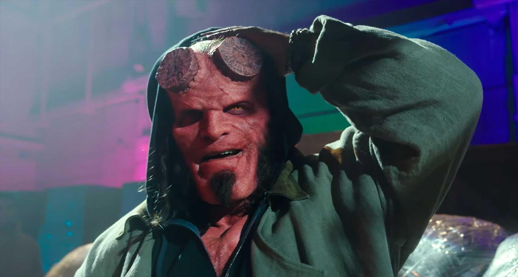 """Monströser neuer Trailer zum 2019er """"Hellboy""""-Film"""