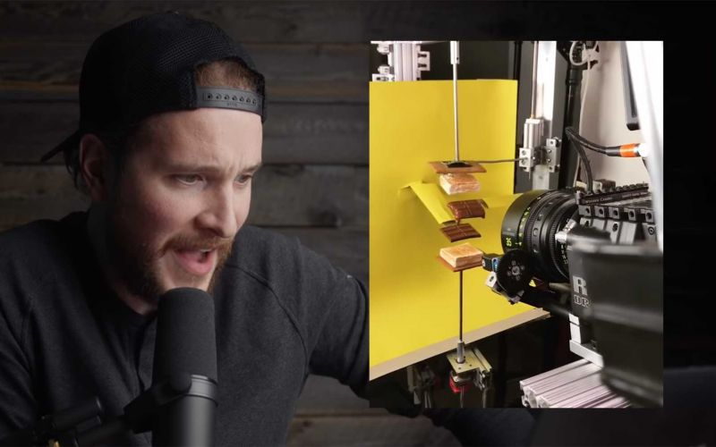 Filmemacher reagiert auf verrückte Kamera-Techniken