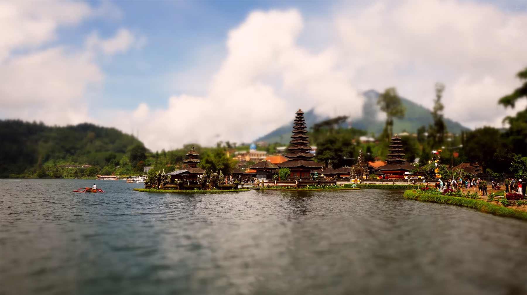 Tilt-Shift: Beautiful Bali