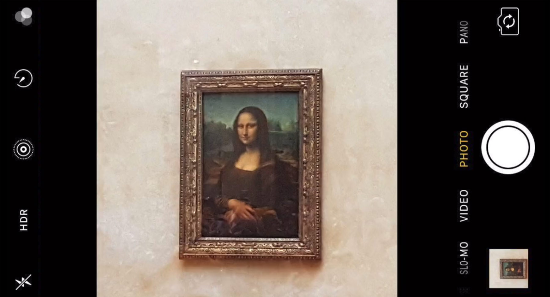"""Mona Lisa Selfie"""