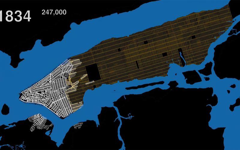 New York Citys Bevölkerung von 1609 bis heute