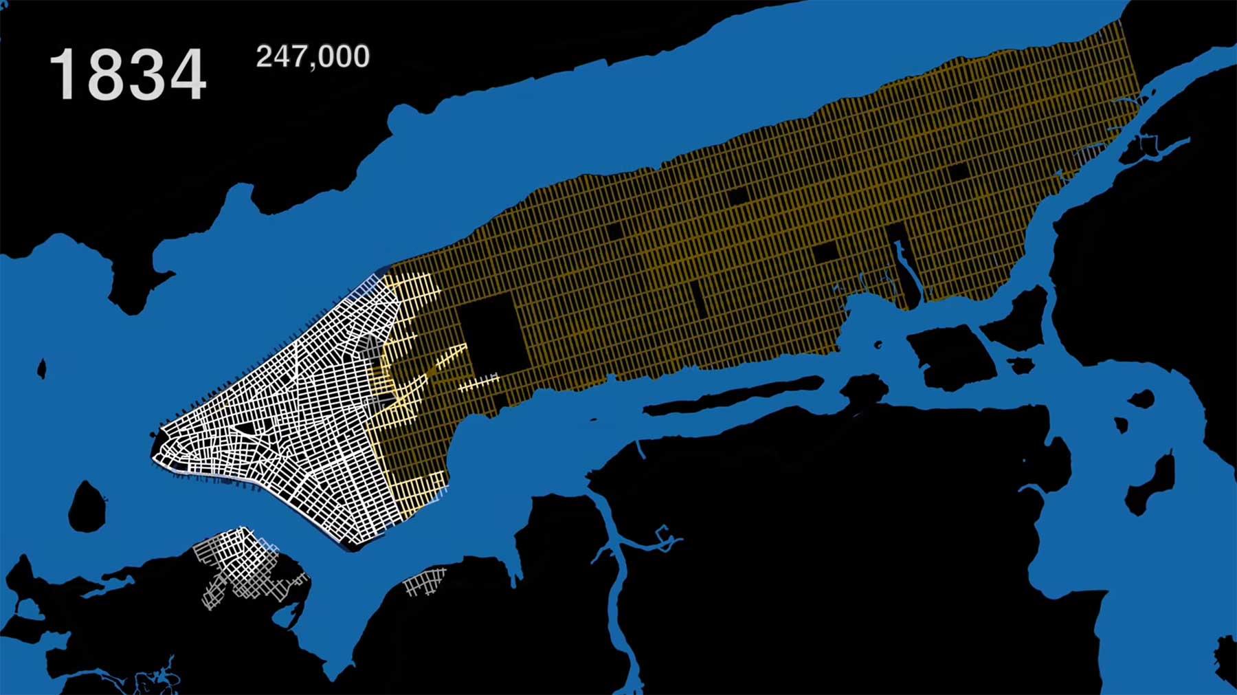 New York Citys Bevölkerung von 1609 bis heute new-york-city-evolution