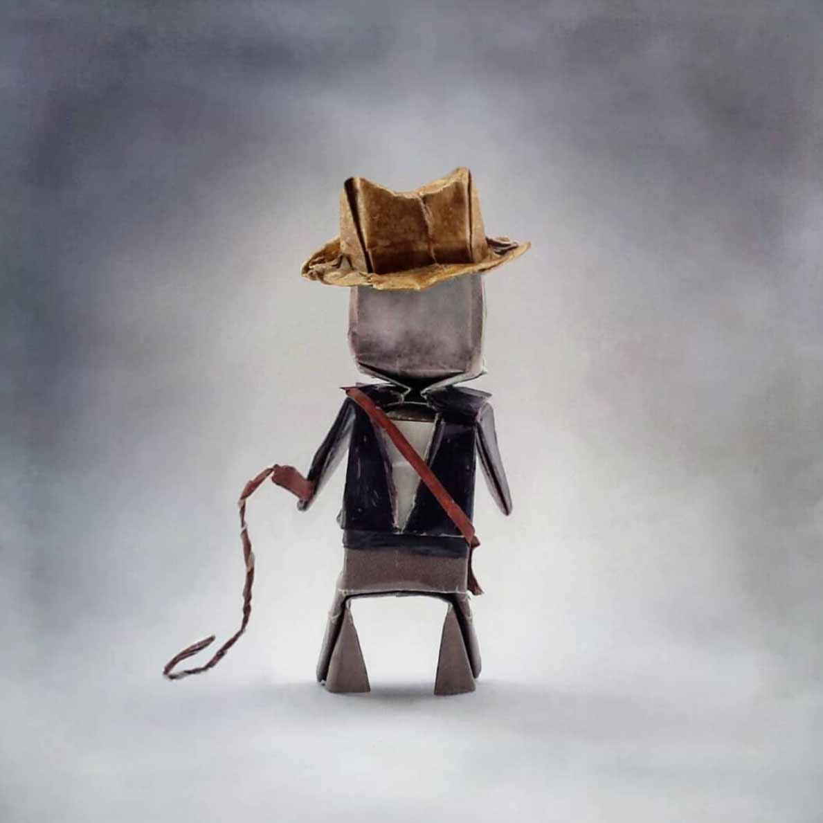 Popkultur-Origami-Figuren von Louise Cassidy origami-figuren-Louise-Cassidy_06