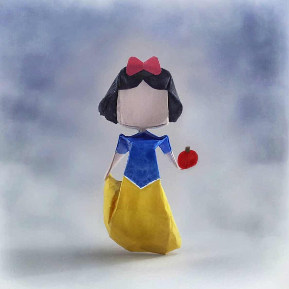 Popkultur-Origami-Figuren von Louise Cassidy origami-figuren-Louise-Cassidy_13