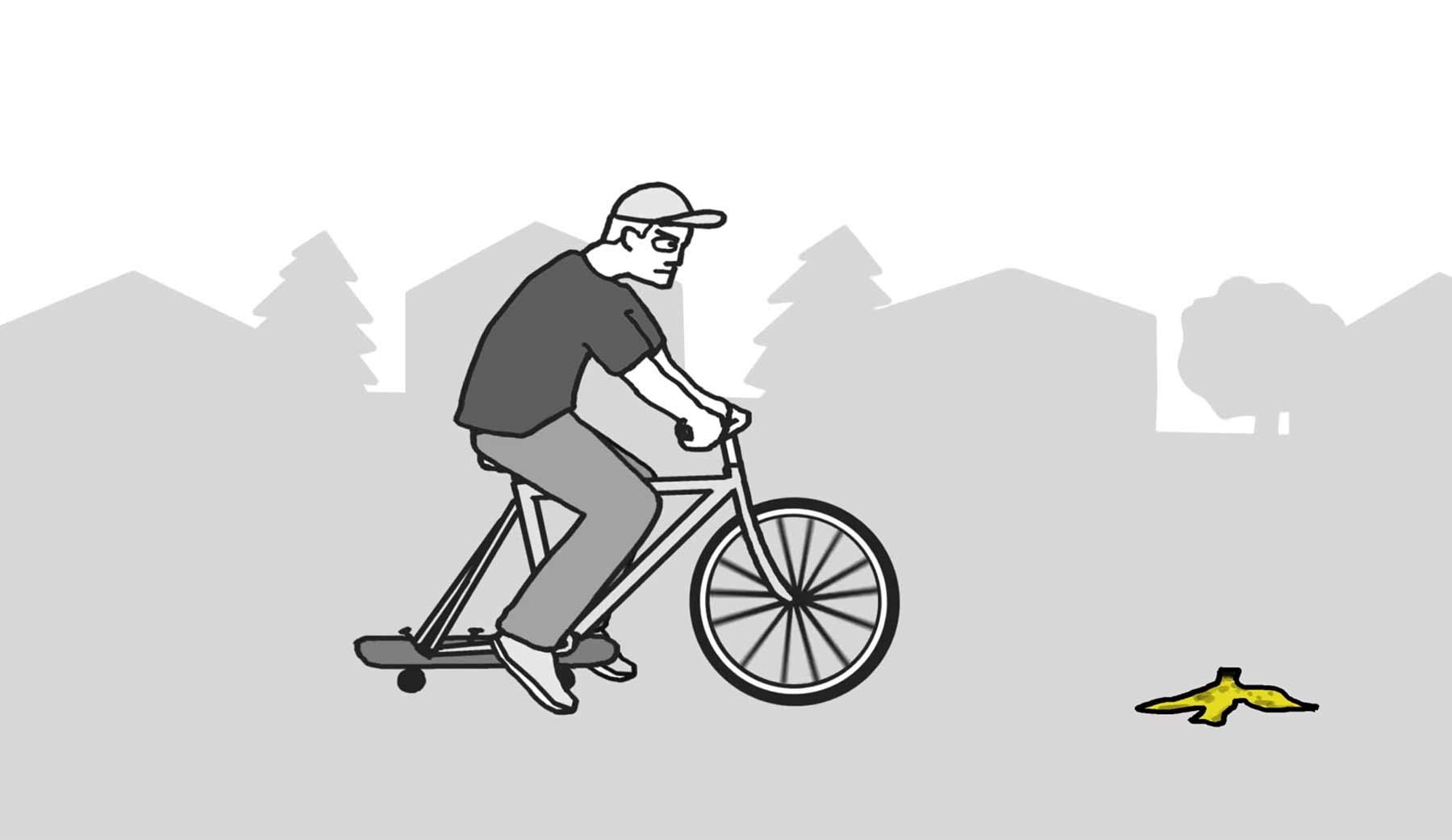 Animierte Polizei-Protokolle skurriler Kleinstadteinsätze