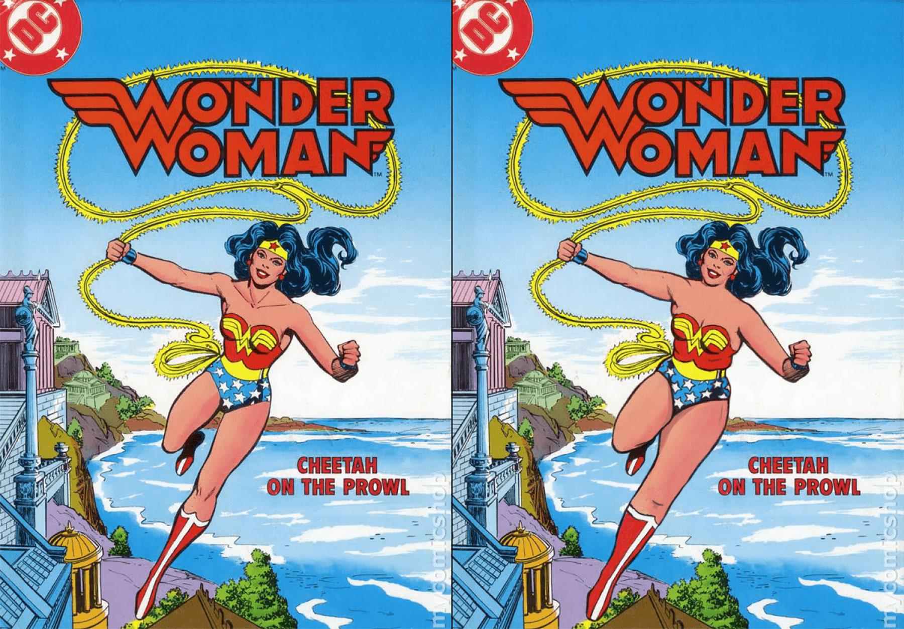 Wenn Superhelden normale Körper hätten