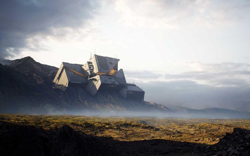 """Fotorealistische Computergrafik mit Unreal Engine 4 """"Rebirth"""""""
