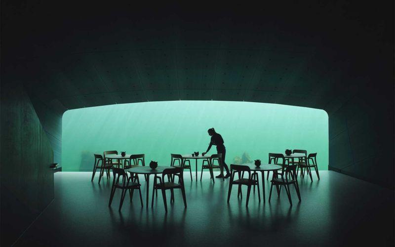 """""""Under"""" ist das erste Unterwasser-Restaurant Europas"""